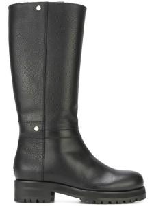Jimmy Choo debate black knee high boots