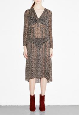 MiH Jeans Cornflower Print Dress 1
