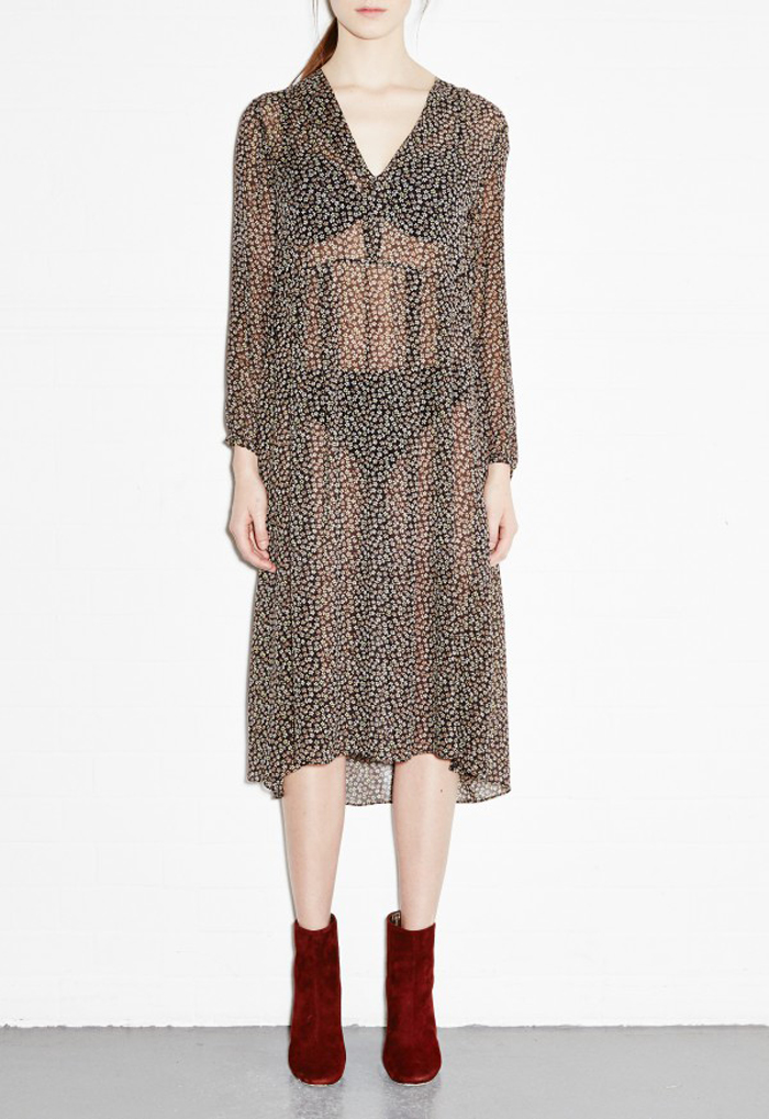 MiH Jeans Cornflower Print Dress