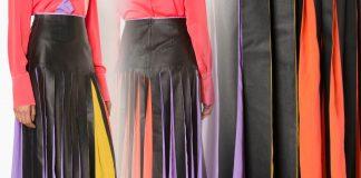 Roksanda pleated mid skirt