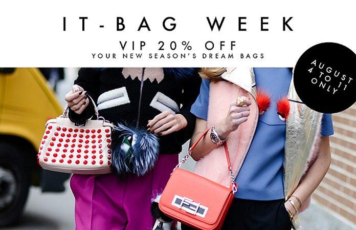 it-bag week Forzieri sale on designer bags 2015