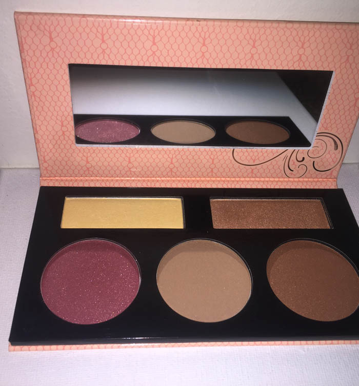 Bhcosmetics Forever Nude Sculpt & Glow contour, highlight & blush palette