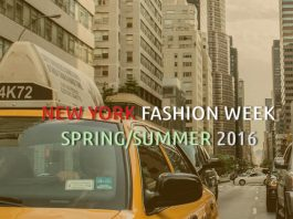 NEW YORK FASHION WEEK SPRING SUMMER 2016