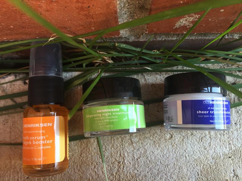 Ole Henriksen 3 little wonders sheer transformation invigorating night treatment truth serum collagen booster