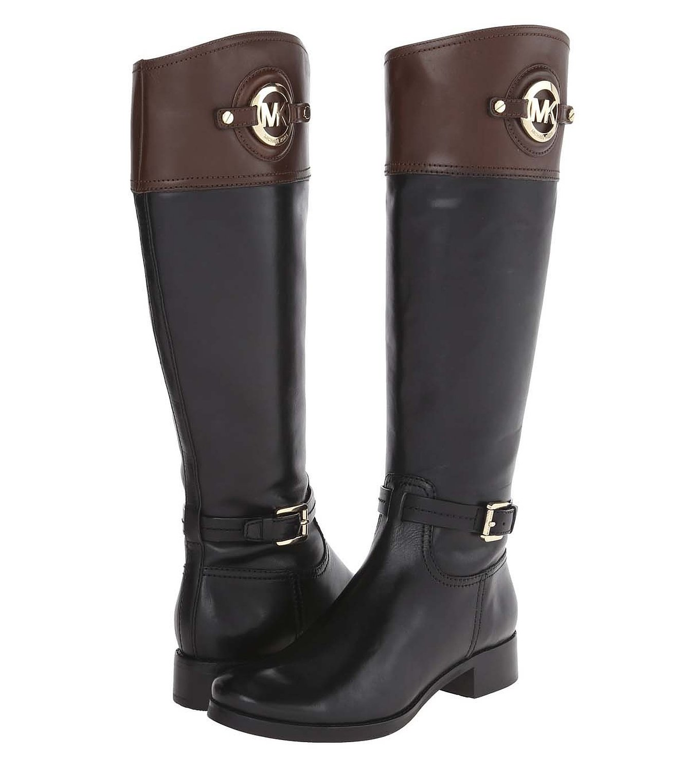 black mocha MICHAEL MICHAEL KORS Womens Stockard Riding Boot