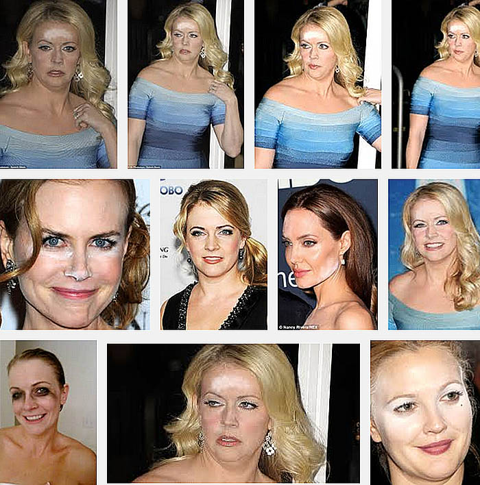 celebrity makeup disasters
