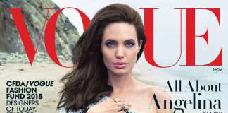 Angelina Jolie cover Vogue November 2015
