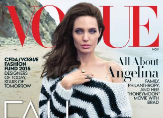 Angelina Jolie cover Vogue November 2015
