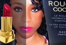 Chanel Rogue Coco shade 442 dimitri ultra hydrating lip color lipstick