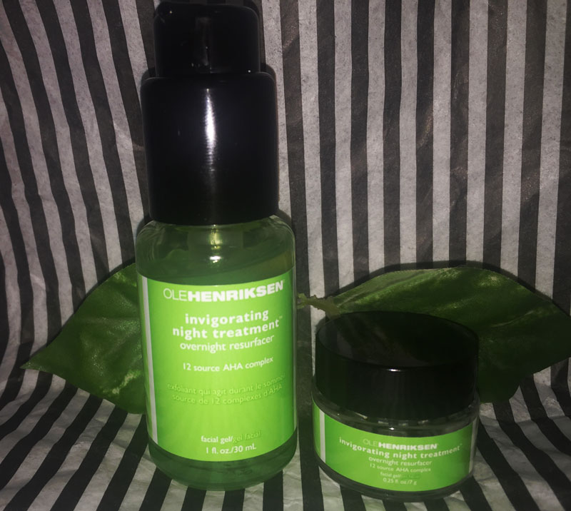 Ole Henriksen 3 little wonders invigorating night treatment overnight resurfacer
