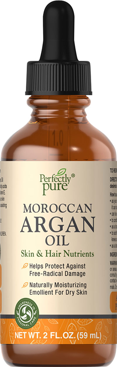 Perfectly Pure Moroccan Argan Oil-2 oz Oil