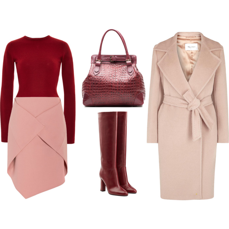 Pink And Burgundy Wednesday My Fashion Wants