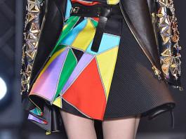 Fausto Puglisi multicolor printed skirt