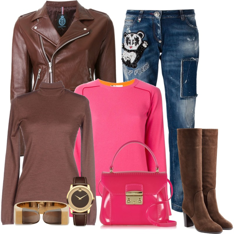 Furla hot pink urla Handbags Candy Gloss Bon Bon Mini Crossbody Sacai Luck Two Tone Sweater Brunello Cucinelli Turtleneck Sergio Rossi Suede Knee Boots