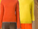 brown orange yellow outfit idea