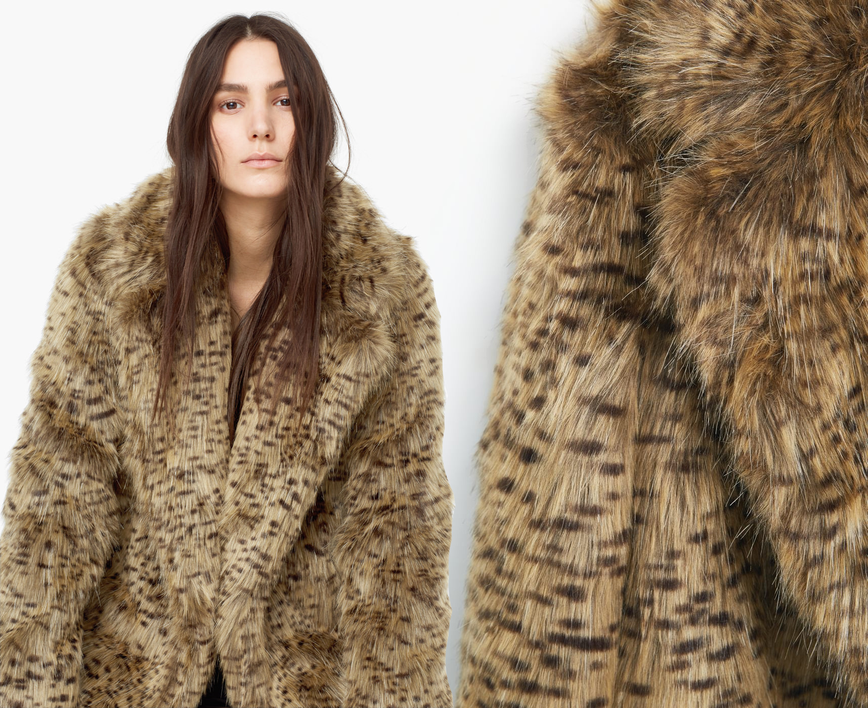 Click here to find out about the Leopard Faux Fur Coat from Boohoo, part of our latest Faux Fur Coats collection ready to shop online today!