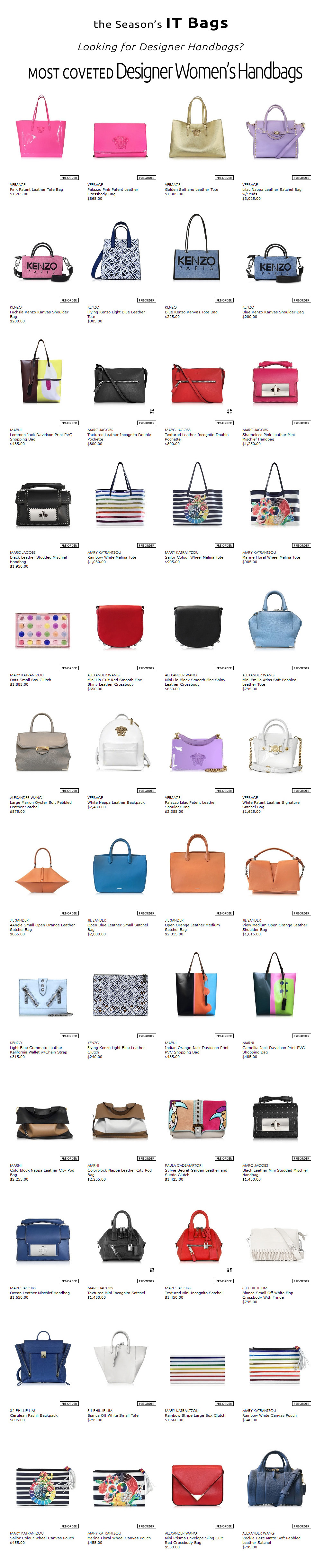 versace marc jacobs valentino roberto cavalli designer bags at Forzieri