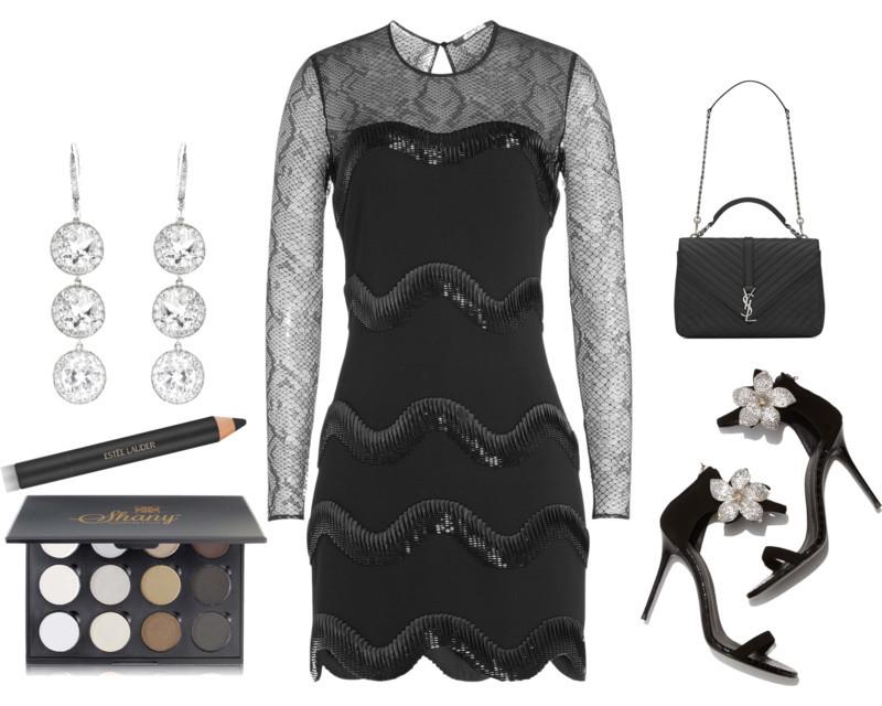 Styling your Roberto Cavalli dress Alisha the Roberto Cavalli embellished cocktail dress