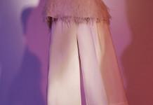 white TIBI culottes cropped pants