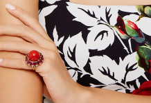 Red Coral And Ruby Ring Fruzsina Keehn