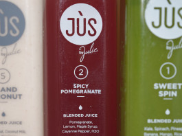 JUS By Julie 3-day juice cleanse spicy pomegranate