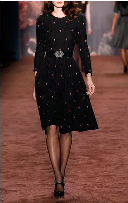 Lena Hoschek dresses - Harrison Fox Black Dress $545