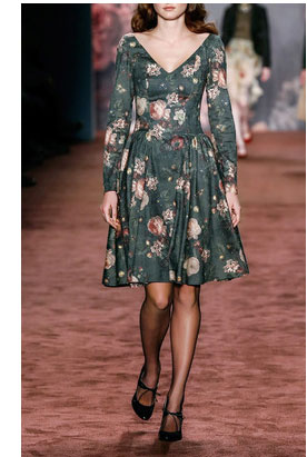 Lena Hoschek dresses - Highgrove Roses Dress $670