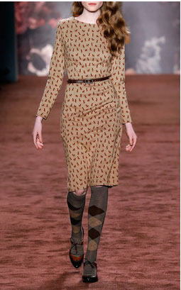 Lena Hoschek dresses - McCartney Baskerville Caramel Dress $520