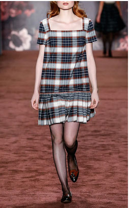 Lena Hoschek dresses - Twist And Shout Winter Check Dress $610