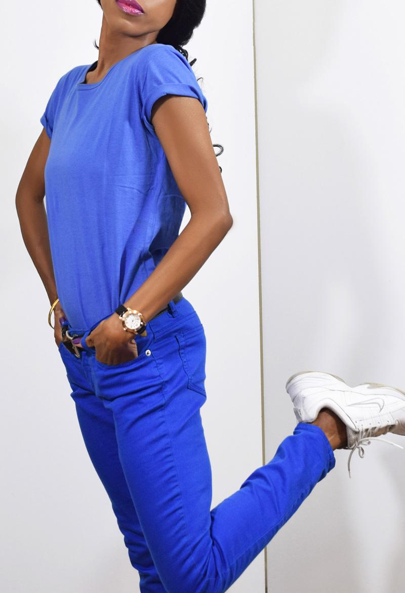 dawgs blue womens t-shirt