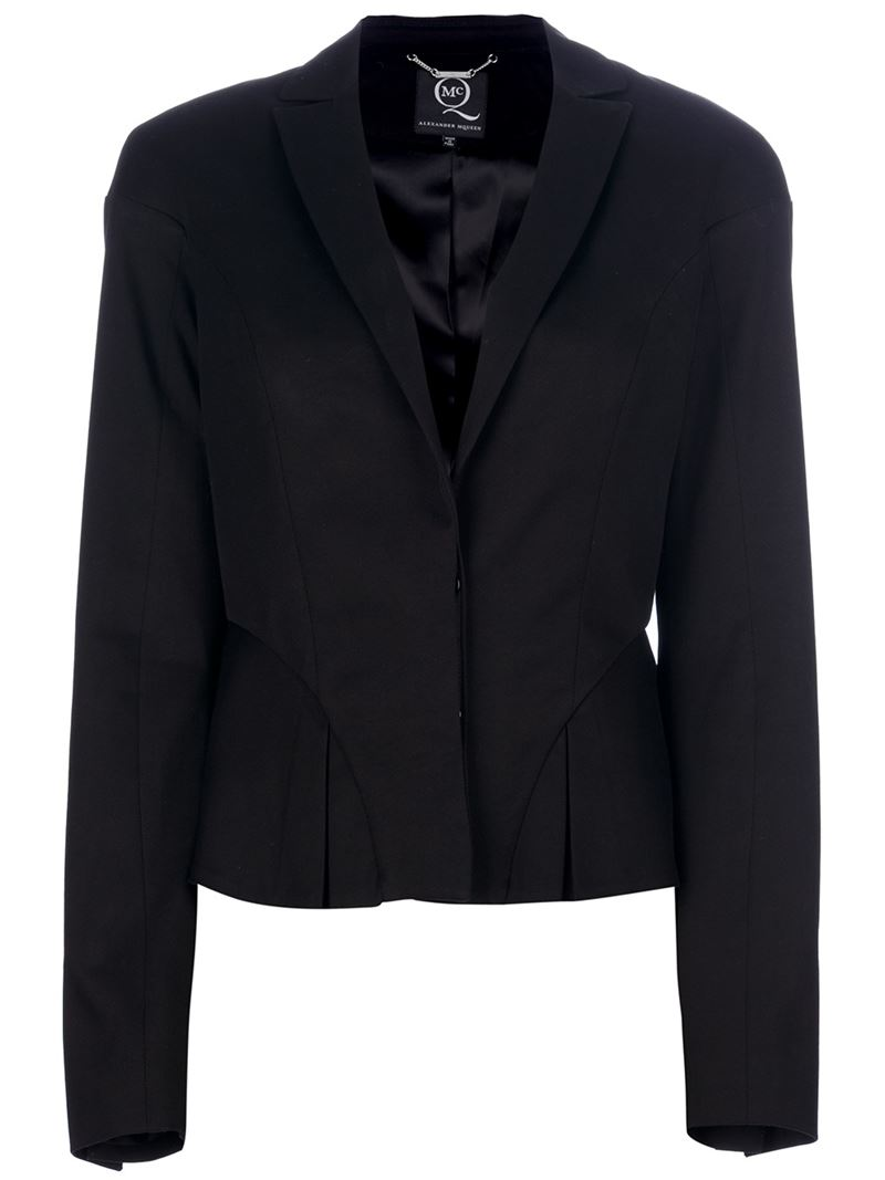 McQ By Alexander McQueen slim pleated blazer