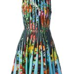 Mary Katrantzou 'Dew' blouse dress