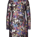 Valentino Brocade Butterfly Bambolina Dress
