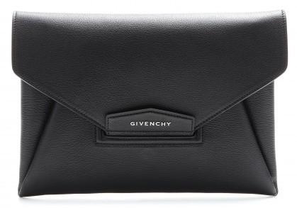 Givenchy Antigona Leather Envelope Clutch