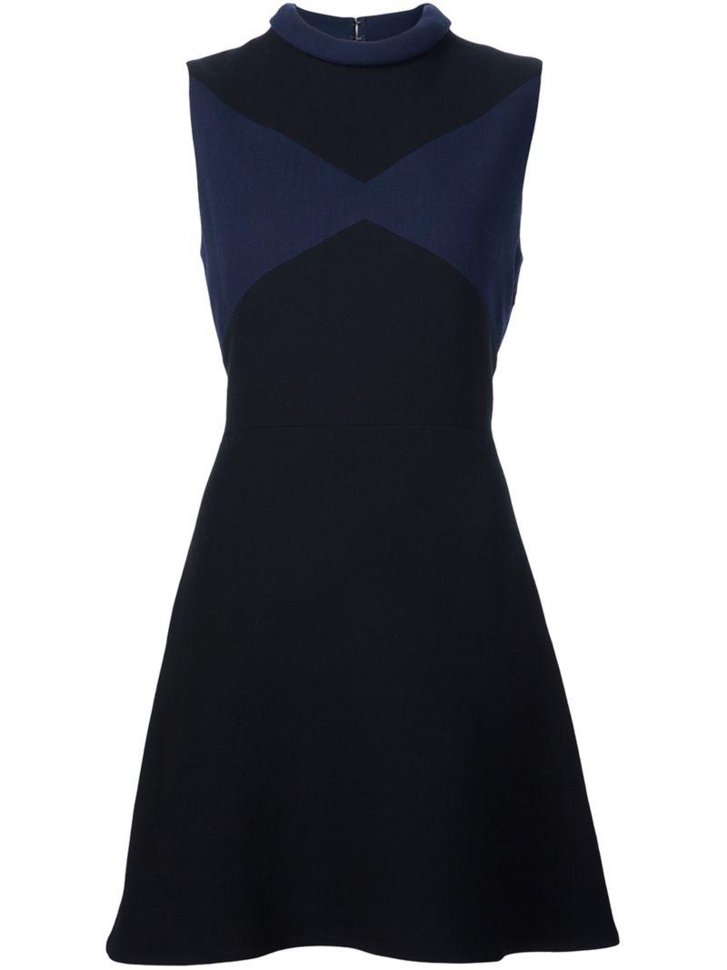 Victoria Victoria Beckham roll neck dress