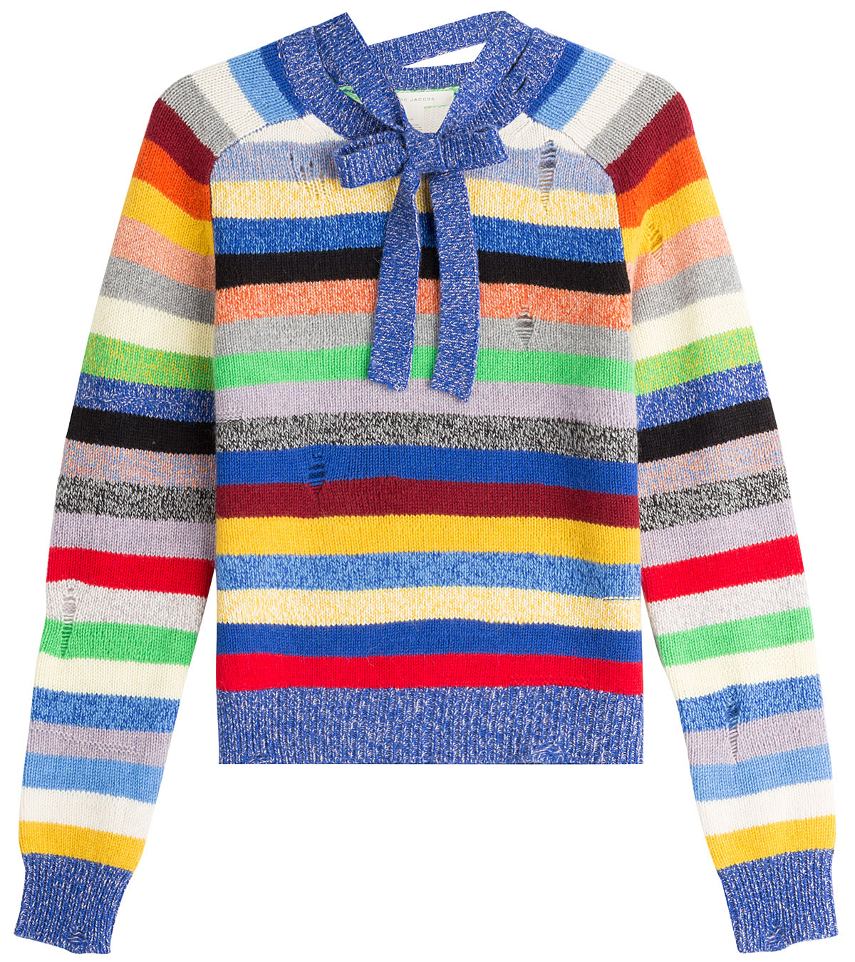 March Jacobs Stripe Cashmere Crewneck Sweater