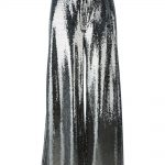McQ Alexander McQueen silver sequinned trousers