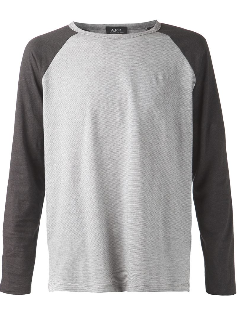 A.P.C. raglan T-shirt