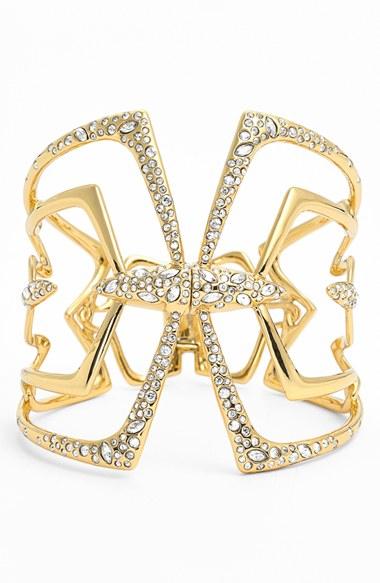 Alexis Bittar 'Miss Havisham - Kinetic Gold' Bracelet Gold One Size