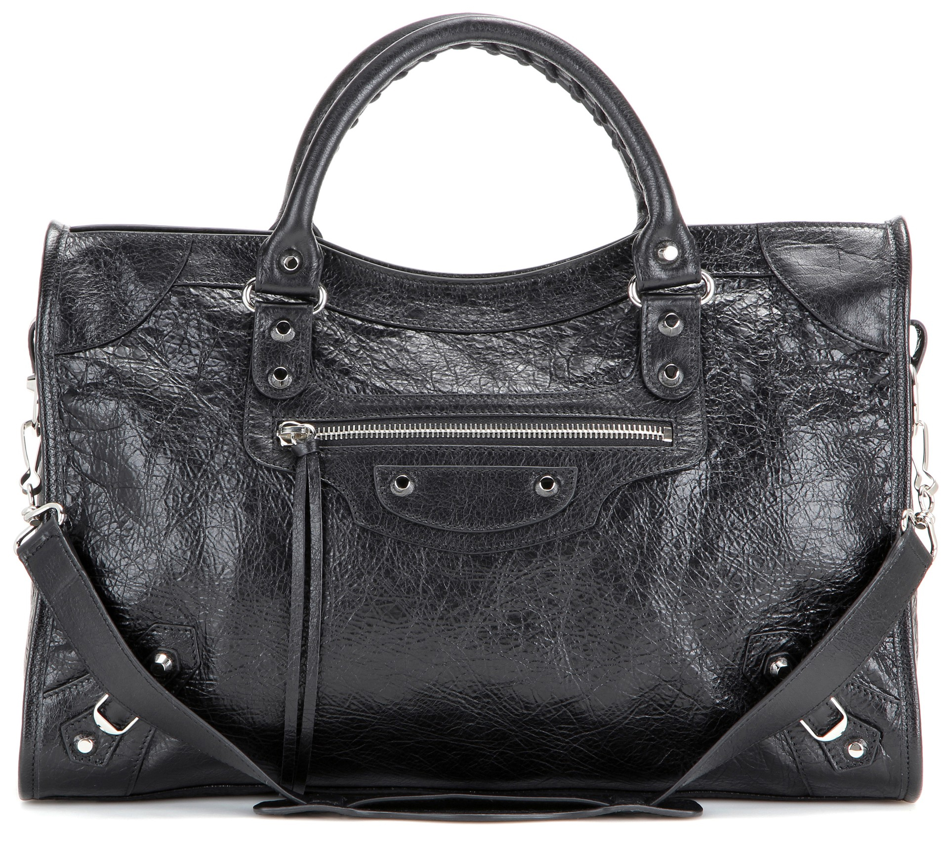 Balenciaga classic city leather tote bag