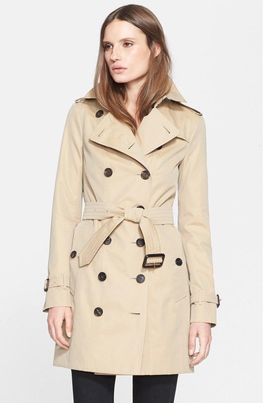 Burberry London Sandringham Slim Trench Coat