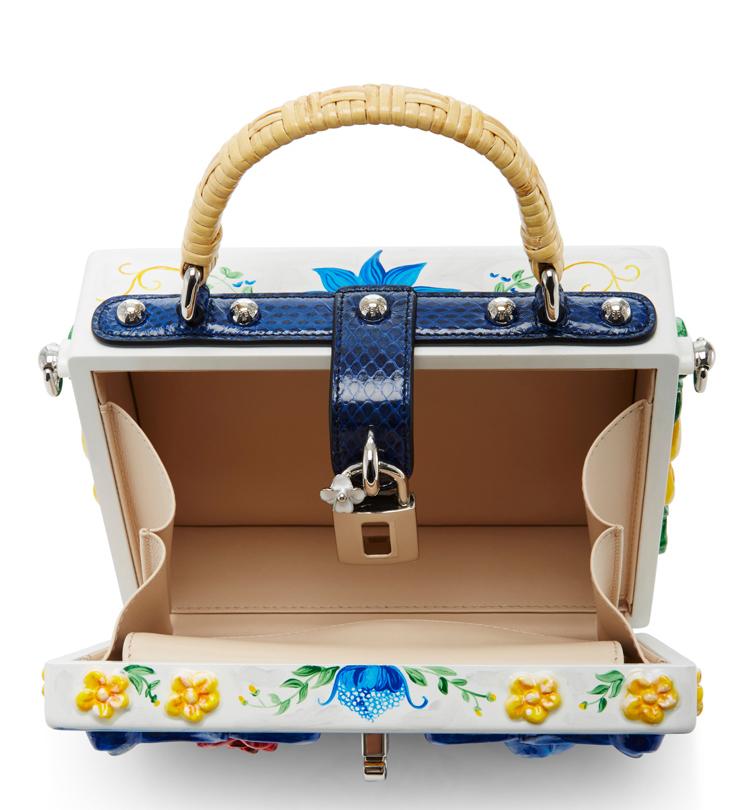 Dolce & Gabbana Maiolica Tile Bag
