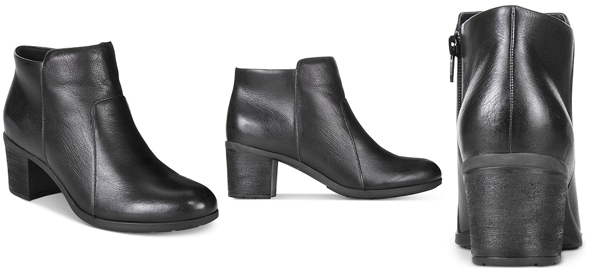 Easy Spirit Billian Block-Heel Ankle Booties