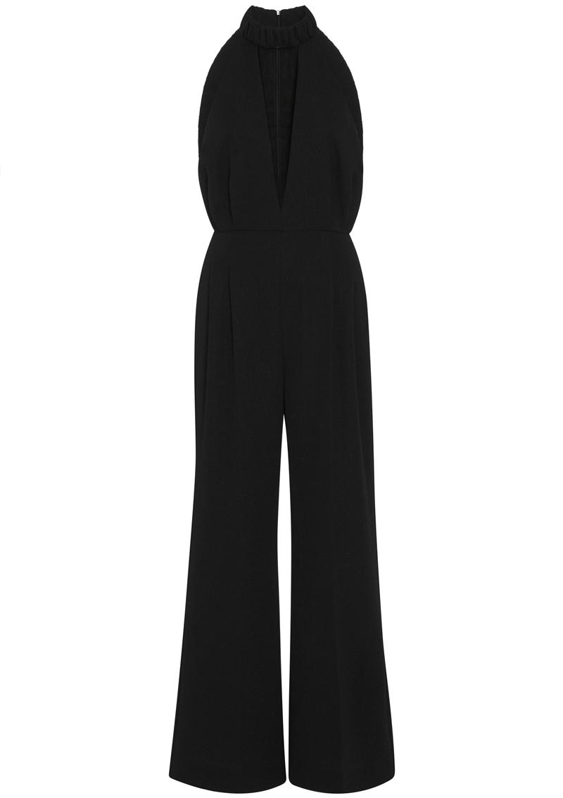 Emilia Wickstead Joni V neck Jumpsuit