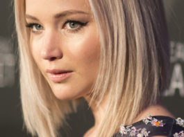 Jennifer Lawrence attends the world premiere of the IMAX film A Beautiful Planet at AMC Lowes Lincoln Square theater on Saturday April 16, 2016 in New York City