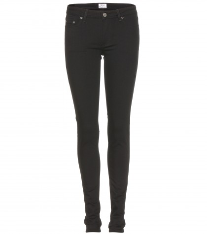 Acne Studios Low Black Skinny Jeans