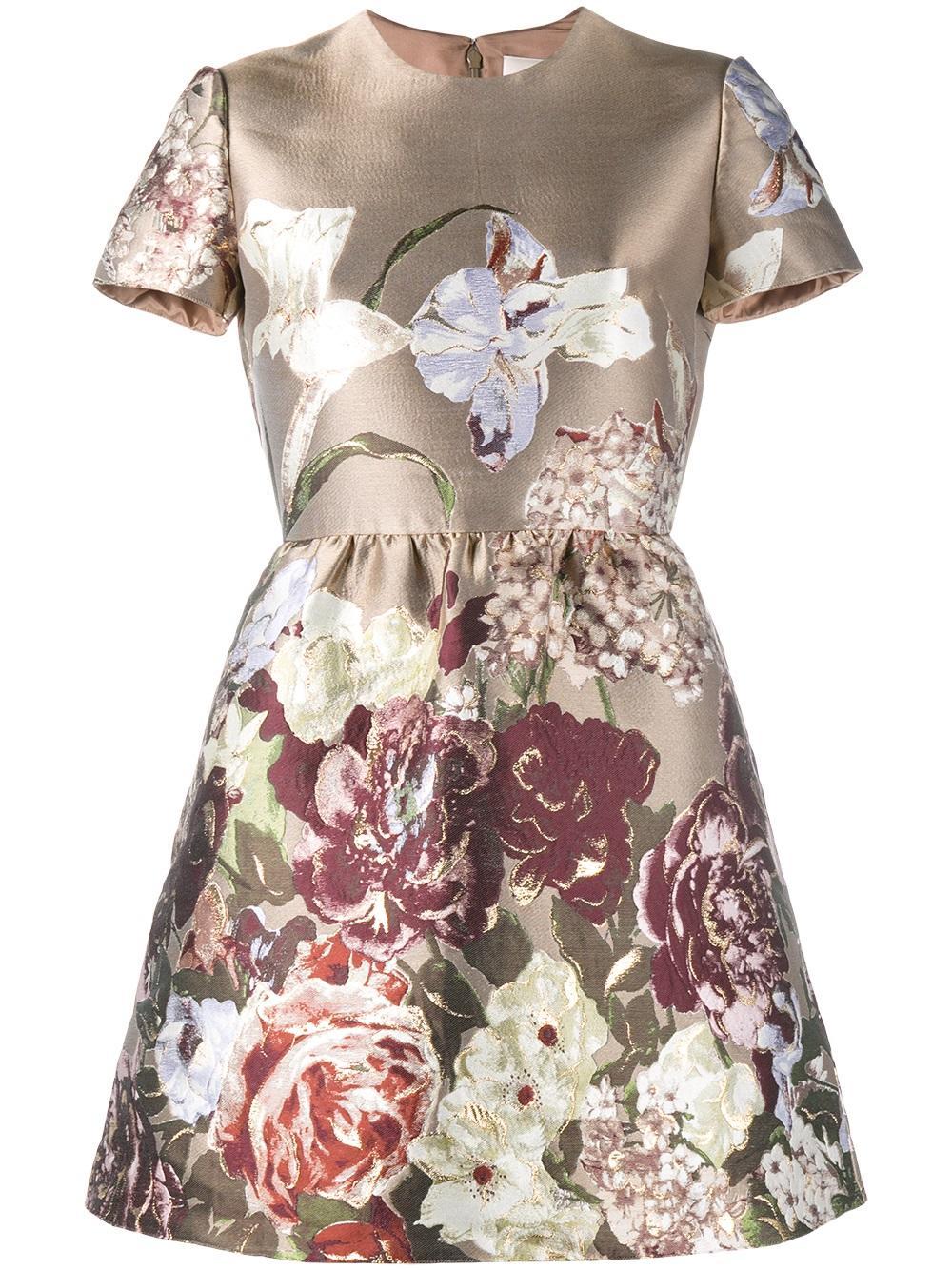 Valentino Kimono 1997 jacquard dress - Valentino dresses