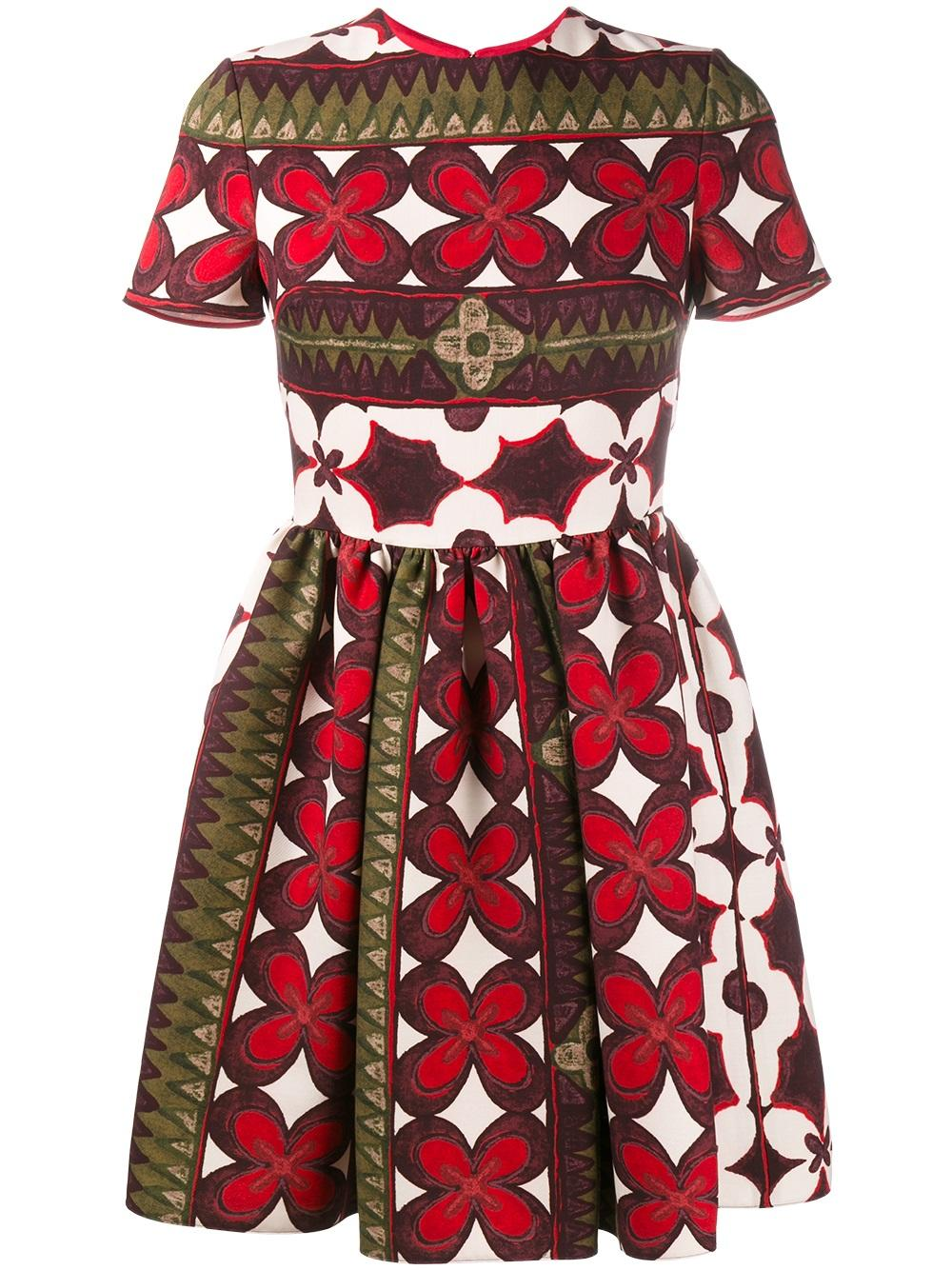 Valentino floral print bambolina dress - Valentino dresses