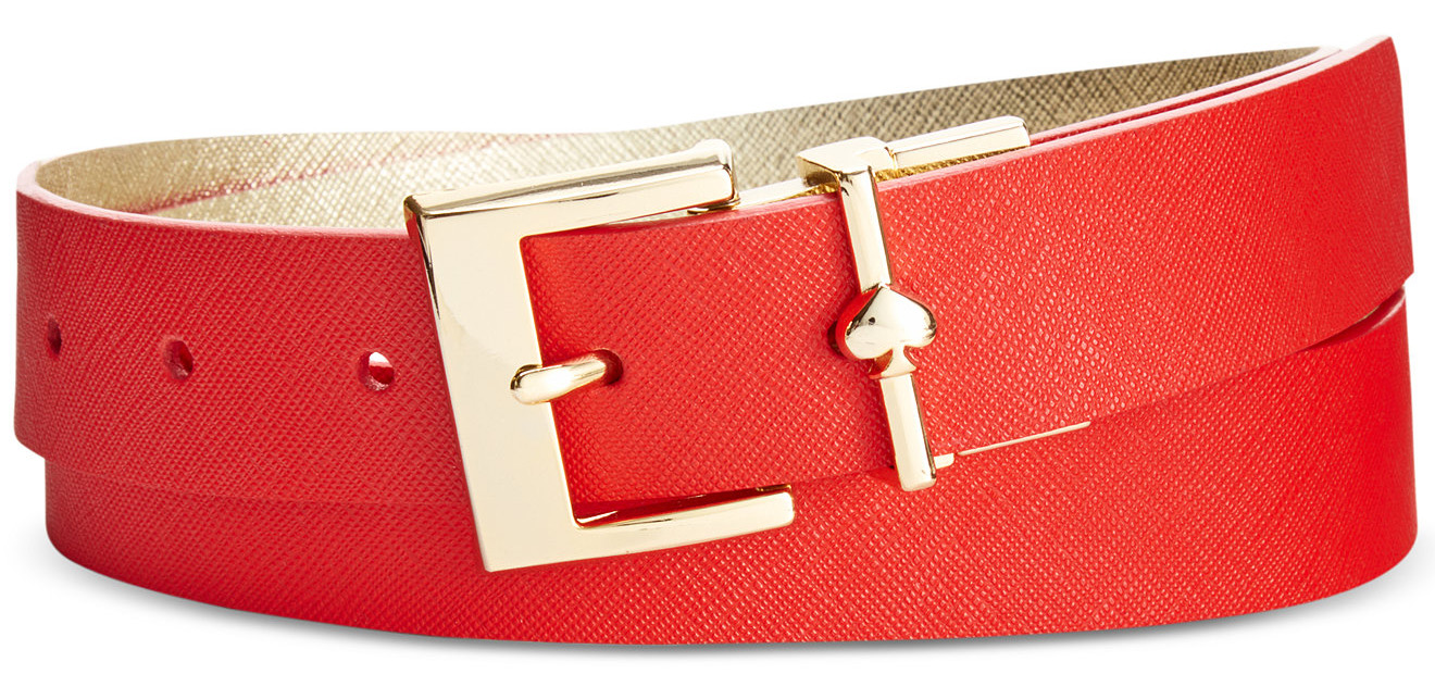 kate spade new york Saffiano Reversible Belt