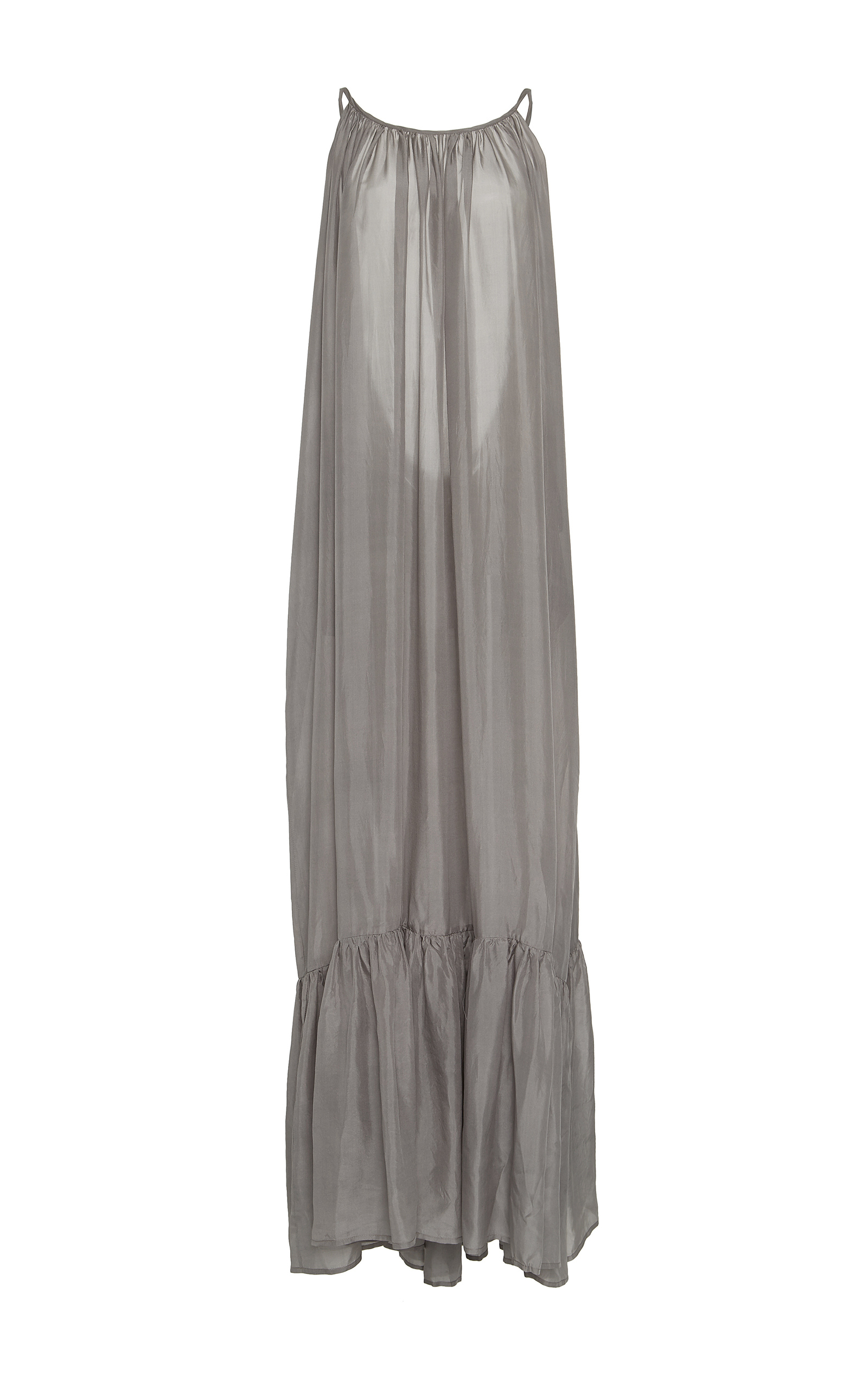 Kalita violet grey Brigitte backless dress